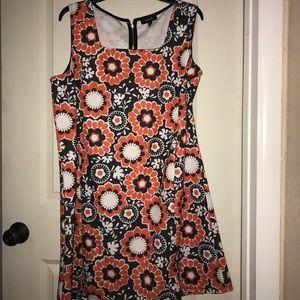 Cute psychedelic flower dress